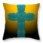 Frisbee Salt Cross 7 Throw Pillow