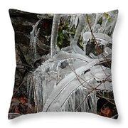 Frozen V Throw Pillow
