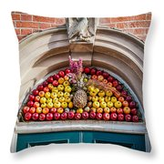Fruit Door Covering Throw Pillow