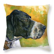 Full Attention Throw Pillow