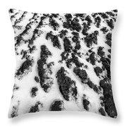 Furrowed Throw Pillow