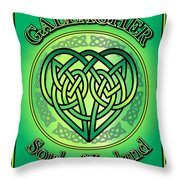 Gallagher Soul Of Ireland Throw Pillow