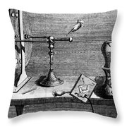 Galvani: Galvanism Throw Pillow