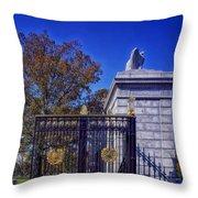 Gate To Arlington Cemetery Throw Pillow