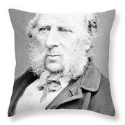George Cruikshank (1792-1878) Throw Pillow