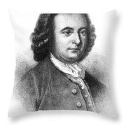 George Mason (1725-1792) Throw Pillow