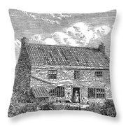 George Stephenson (1781-1848) Throw Pillow