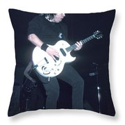 Musician George Thorogood Throw Pillow