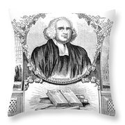 George Whitefield (1714-1770) Throw Pillow