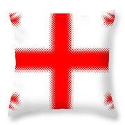 Georgian Flag Throw Pillow
