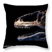 Giganotosaurus Skull 3 Throw Pillow