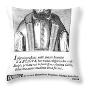 Girolamo Zanchi (1516-1590) Throw Pillow