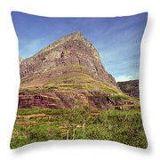 Glacier National Park 1 Throw Pillow