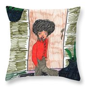 Glad To Be Home Throw Pillow