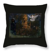 Goatswood Cathedral Throw Pillow