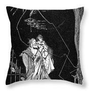 Goethe: Faust Throw Pillow