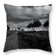 Going To The Chapel Throw Pillow