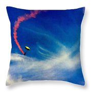 Golden Knights Painting Throw Pillow