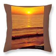 Golden - Sunrise Throw Pillow