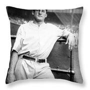 Goose Goslin (1900-1971) Throw Pillow