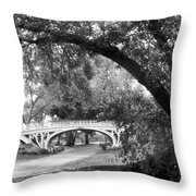 Gothic Bridge Throw Pillow