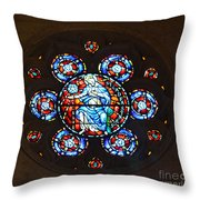 Grace Cathedral Throw Pillow
