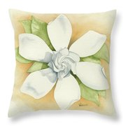 Graceful Symmetry Throw Pillow