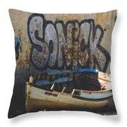 Sonick Throw Pillow