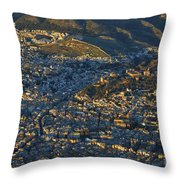 Granada And The Alhambra Throw Pillow