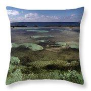 Grand Bahama Island Throw Pillow