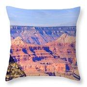 Grand Canyon 40 Throw Pillow