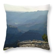 Grand Canyon South Throw Pillow