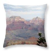 Grand Canyon View Throw Pillow