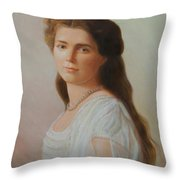Grand Duchess Maria Nikolaevna Of Russia Throw Pillow
