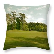 Grand National Golf Course - Opelika Alabama Throw Pillow