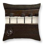 Grand Pianoforte Throw Pillow