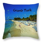 Grand Turk Throw Pillow