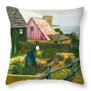 Grandma G. Throw Pillow