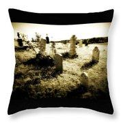 Graveyard 4724 Throw Pillow