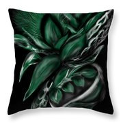 Greenery Gourd Throw Pillow
