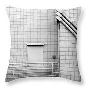 Gridlock Throw Pillow