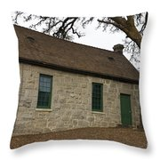 Griffith Quarry Park And Museum Penryn California Throw Pillow