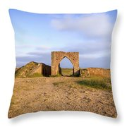 Grosnez Castle - Jersey Throw Pillow