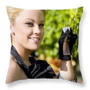 Growing Personal Wealth Throw Pillow