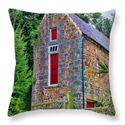 Guernsey Barn Throw Pillow