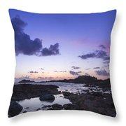 Guernsey Sunset Throw Pillow