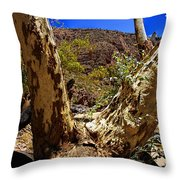 Gum Tree At The Creek V2 Throw Pillow