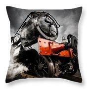 Gwr Steam Train Throw Pillow