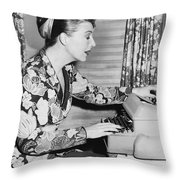 Gypsy Rose Lee Throw Pillow