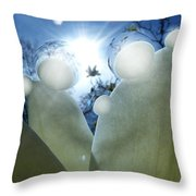 1 H Sphrs Absorbing The Majesty Throw Pillow